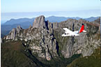 Scenic flight to Melaleuca in the South West Wilderness